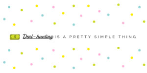 pretty simple thing slider deal hunting